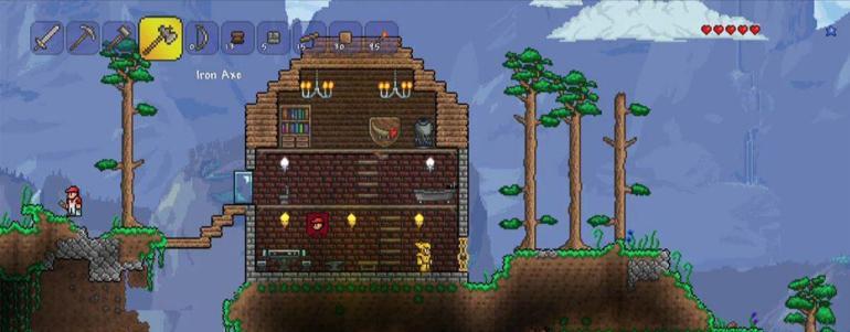 Гайд для новичков в игре Terraria