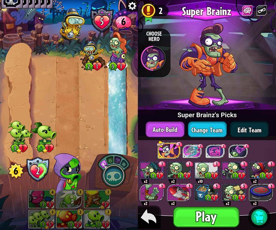 Plants vs. Zombies Heroes: лучшие колоды для прохождения, хитрости и советы
