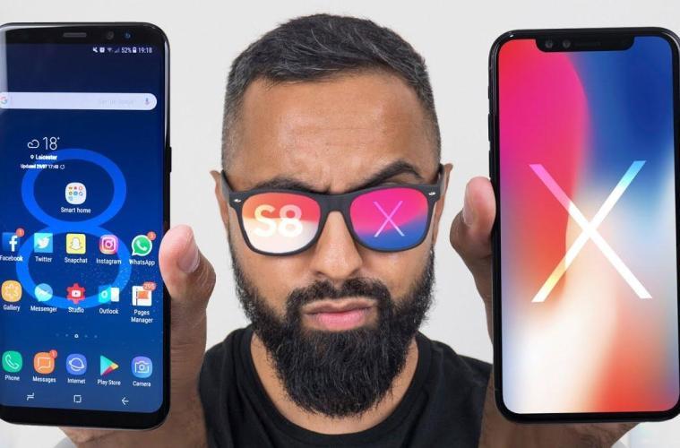 10 лучших смартфонов 2017 года: iPhone или Samsung?