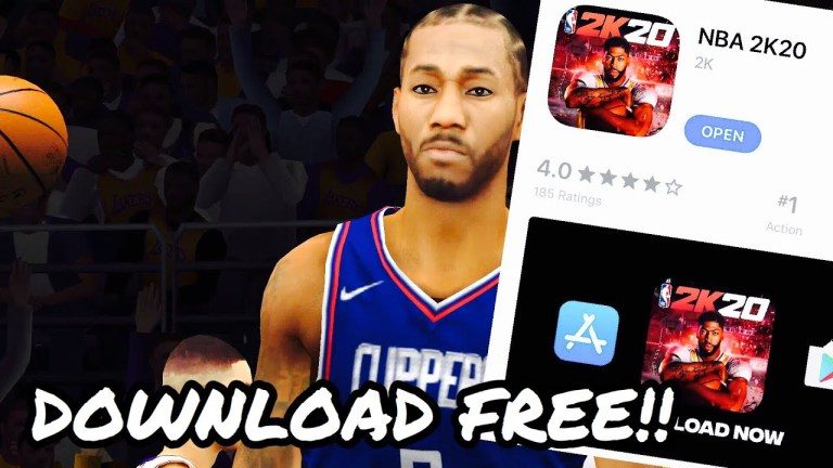 Download NBA 2K20 ios free download for iPhone & iPad