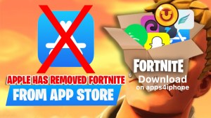 Download Fortnite iOS on iPhone without AppStore