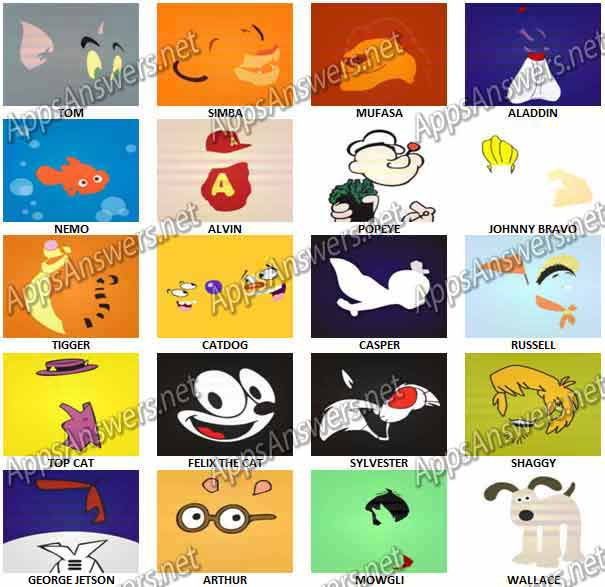 Cartoon Characters Quizzes : Cartoon characters logo quiz answers ankaperla