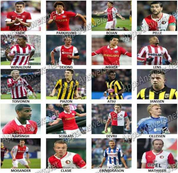 Eredivisie players