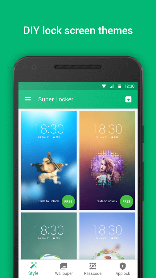 تطبيق القفل Super Locker – DIY&Headlines