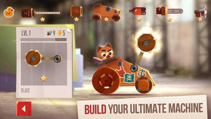 لعبة CATS: Crash Arena Turbo Stars