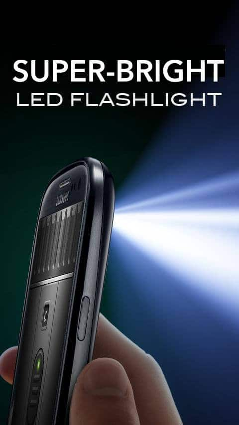 تطبيق الفلاش Super-Bright LED Flashlight
