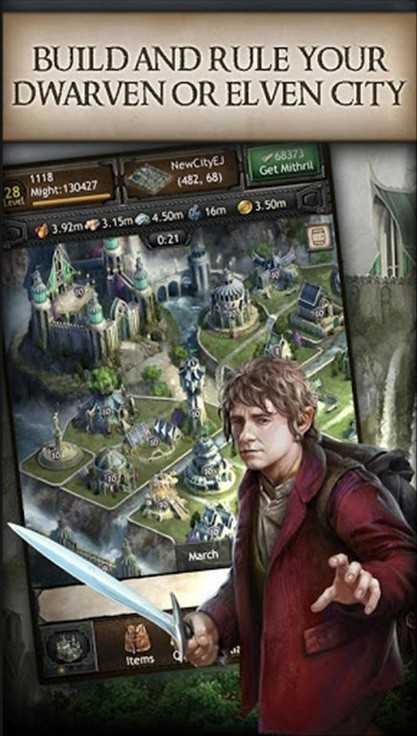 The Hobbit: Kingdoms of Middle-earth للاندرويد [APK]