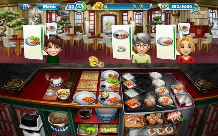 Cooking Fever للاندرويد