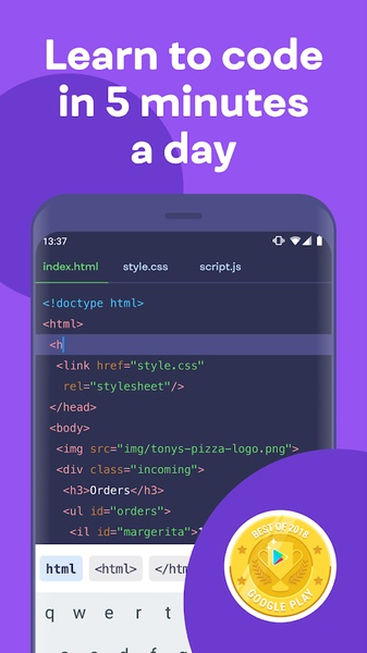 Mimo: Learn to Code مهكر بريميوم للاندرويد