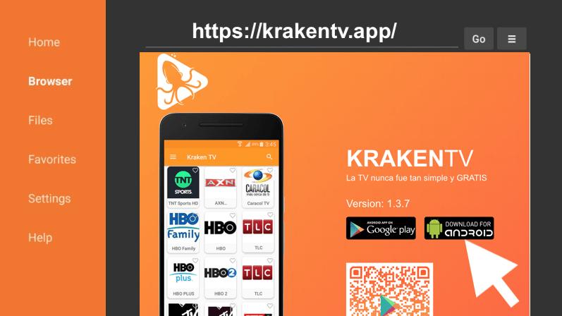 como instalar kraken tv v3 apk amazon firestick