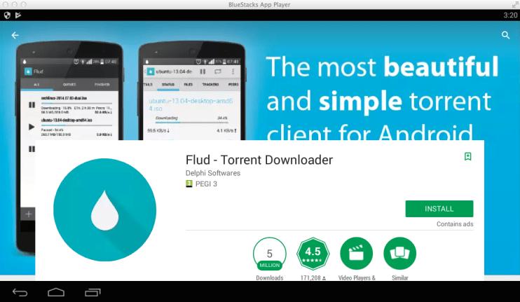 flud-torrent-downloader-pc-windows-mac-bluestacks