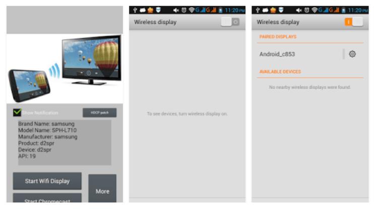 Wifi-display-Miracast-app-screenshots