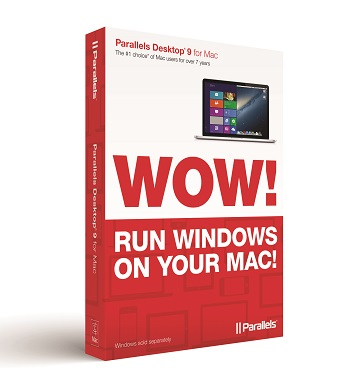Parallels Desktop 9 for Mac Seamlessly Unites Windows 8