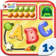 Das iPad / iPhone wird zur Babyspielewiese mit der gleichnamigen App Baby Spiele