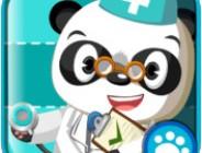 Vorschulkinder werden zum Tierarzt in Dr. Pandas Tierklinik