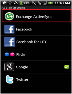 Fix Exchange ActiveSync or EAS sync error in Android KitKat