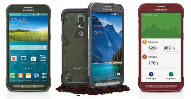 Samsung Galaxy S5 Active for AT&T out now