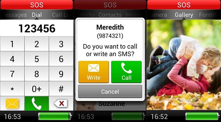 App launchers for senior citizens