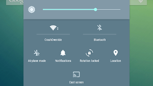 access Quick Settings in Android 5.0 Lollipop
