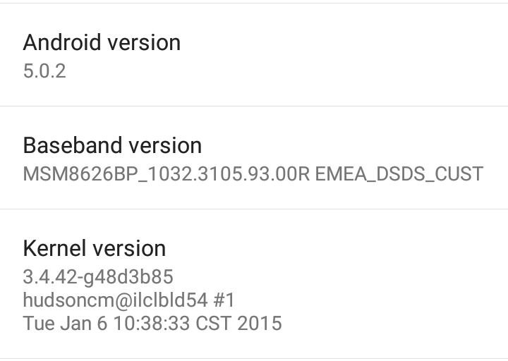 Can't wait to update to Lollipop in your Moto G 2014? Try this then.