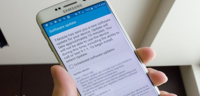 Samsung rolls out first OTA update for T-Mobile's Galaxy S6