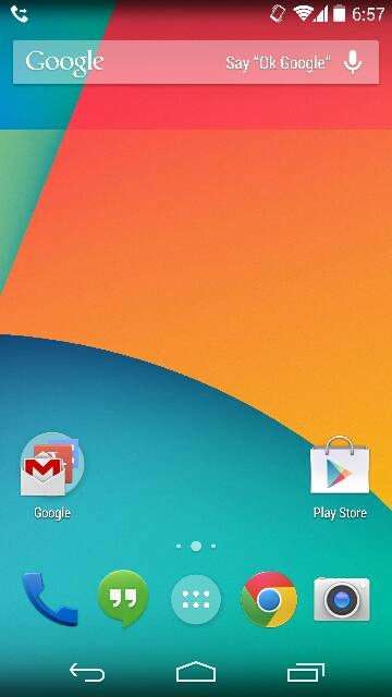 How to remove the Google Search Bar from Homescreen of your