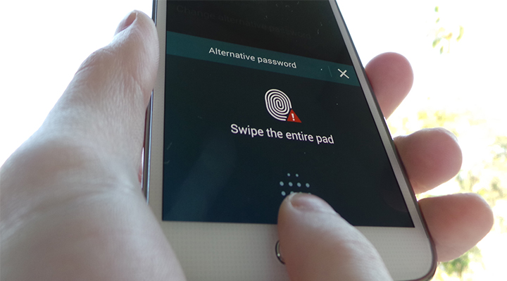 Fingerprint Unlock