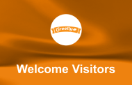 Greet visitors in your office from your iPad with Greetly!
