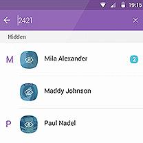 Find a hidden message/chat