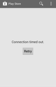 "to Fix ""Connection timed out"" Error in Google Play Store"