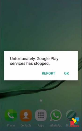 google play services has stopped fix