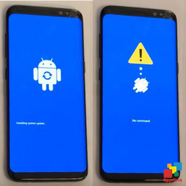 how to get s8 into recovery mode