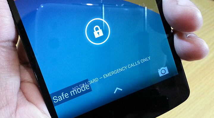 enter Safe Mode in Android