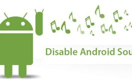 How to disable touch sound in Android