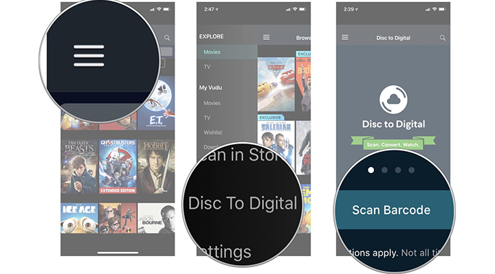 Turn Movie Discs Into Digital Copies