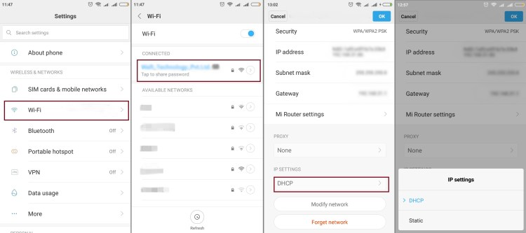 How to Fix Failed to Obtaining IP Address Error in Android