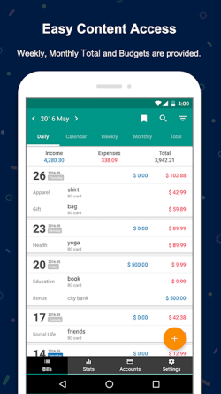 Money Manager Expenses & Budget- Expenses Tracking Application