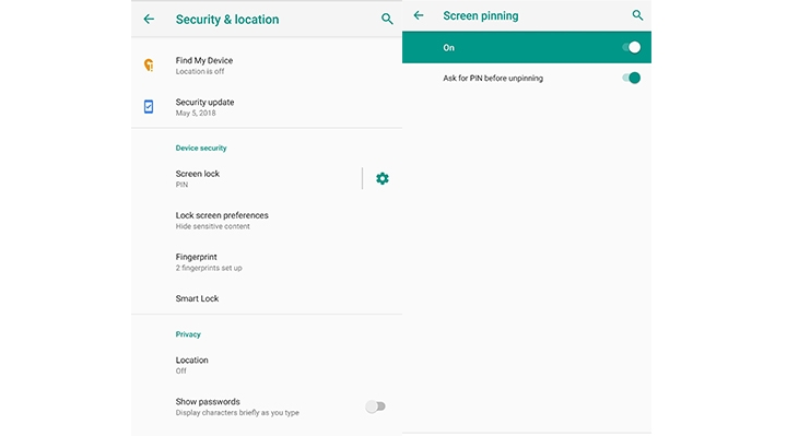 How to Use Screen Pinning in Android Pie