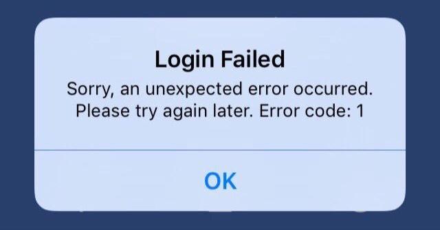 2 error apple application
