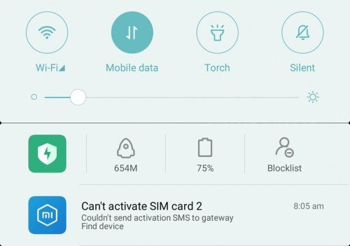 Fix Your SIM card is not activated error