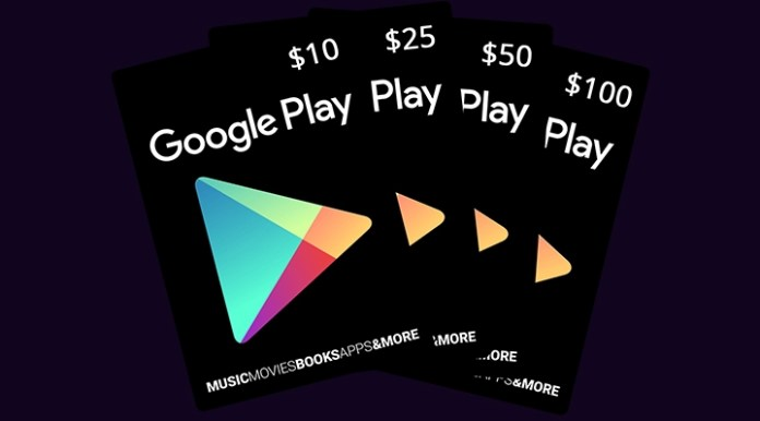 Redeem Google Play Gift Card outside US
