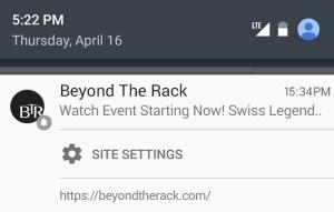 Désactiver la notification push sur Google Chrome [Comment]