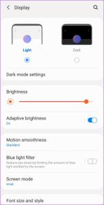 fix green tint on Galaxy Note 20 screen