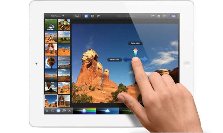 iPhoto Multi Touch