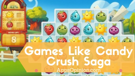 5 best android games like candy crush saga appsopinion