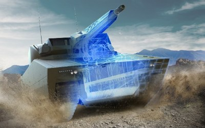 Coming soon: A smart combat vehicle