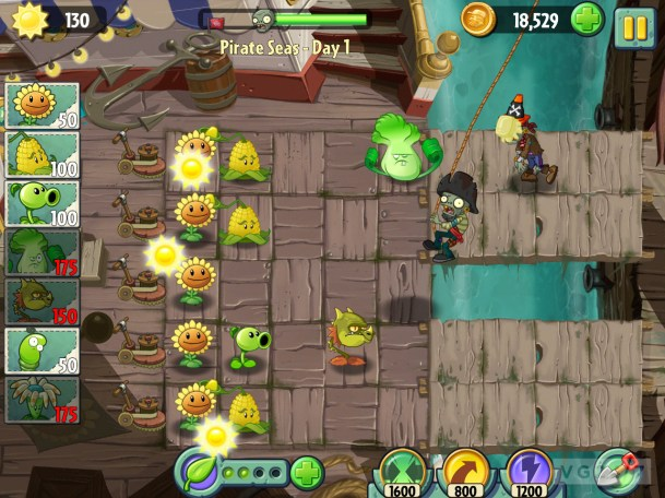 Plant vs zombies 2 apk