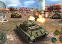 tank strike 3d game