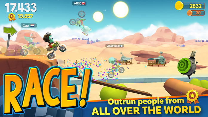 big bang racing game