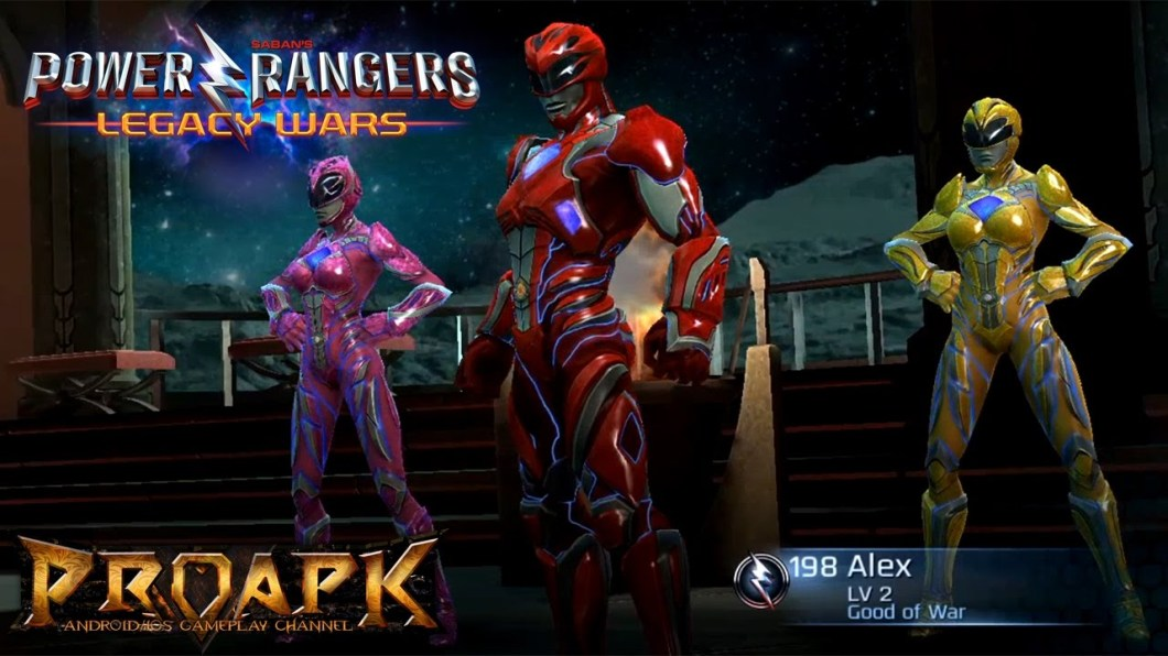 power rangers legacy wars for pc